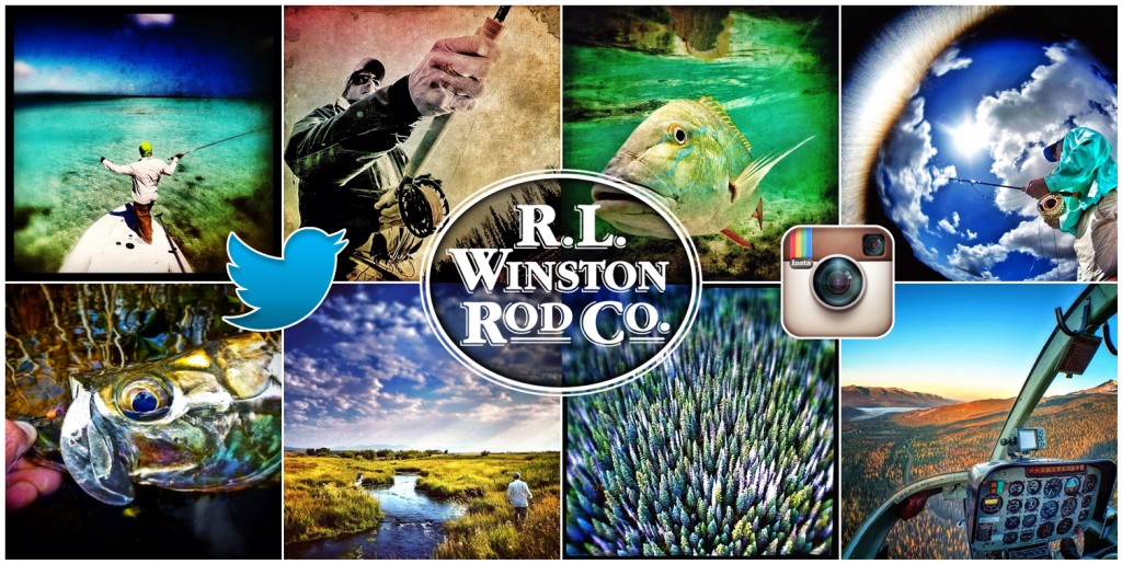 Winston Rods on Twitter and Instagram
