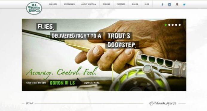 Winston Rods Website 2014