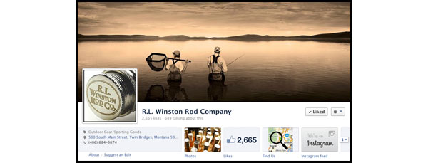 Winston Rods on Facebook