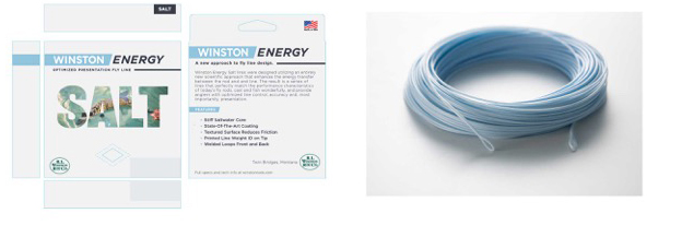 Winston Salt Energy Fly Lines photo